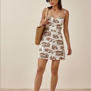 NWOT Reformation Roarke Linen Dress Sonora